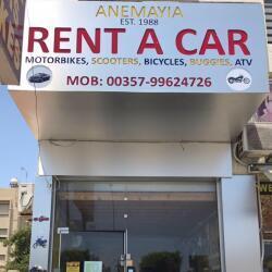 Anemayia Cars And Bikes Rental Center